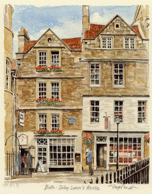 Bath - Sally Lunn's House
