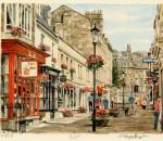 Bath - Street Scene
