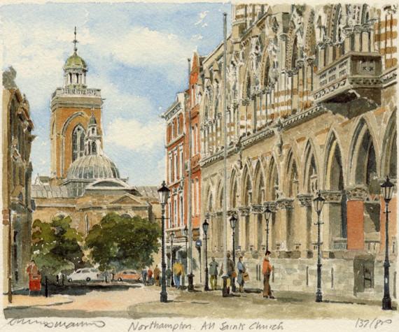 PB0488 Northampton - All Saints Church