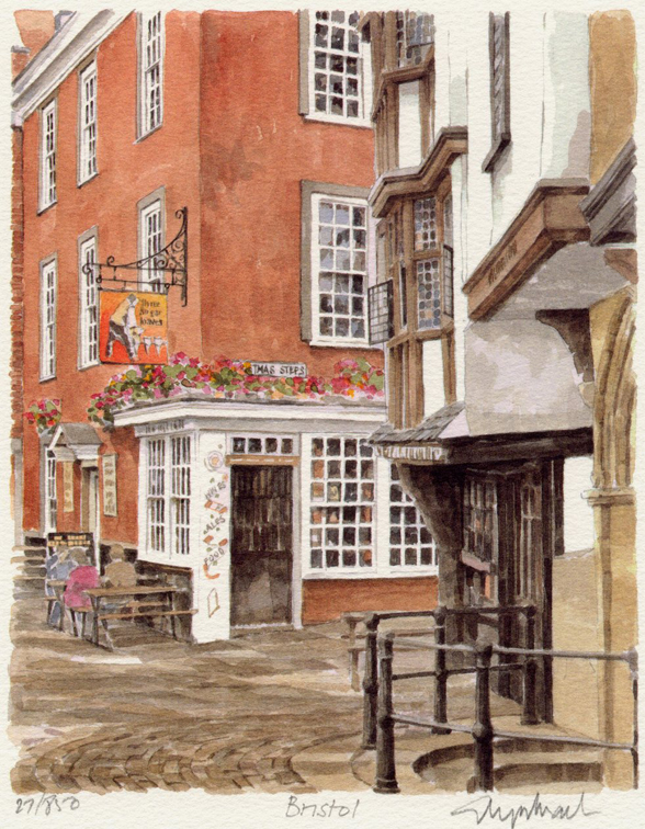 Bristol - Medieval Houses