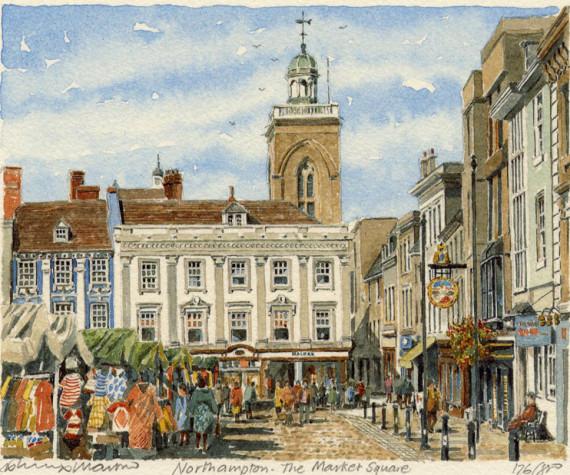 PB1001 Northampton - Market Square