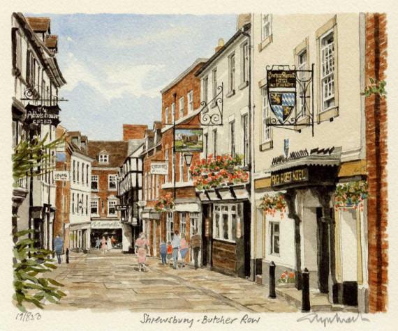 Shrewsbury Butcher Row