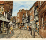 Worcester - street scene