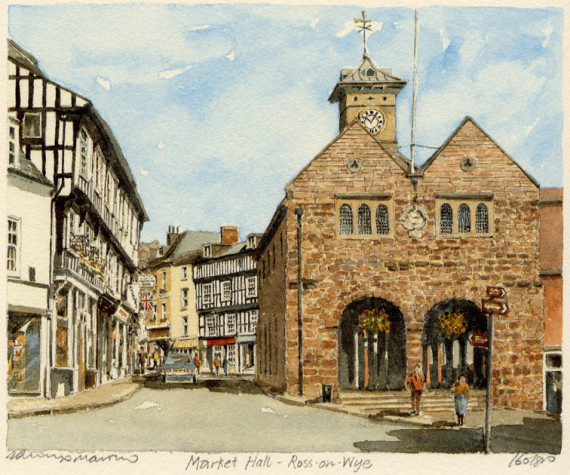 PB0028 Ross-on-Wye - Market Hall