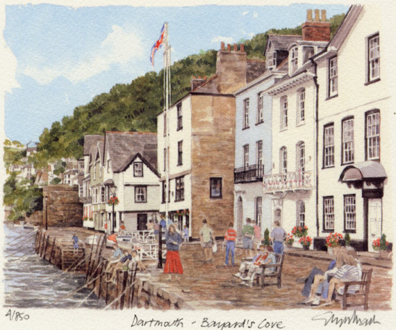 PB0047 Dartmouth - Bayard's Close