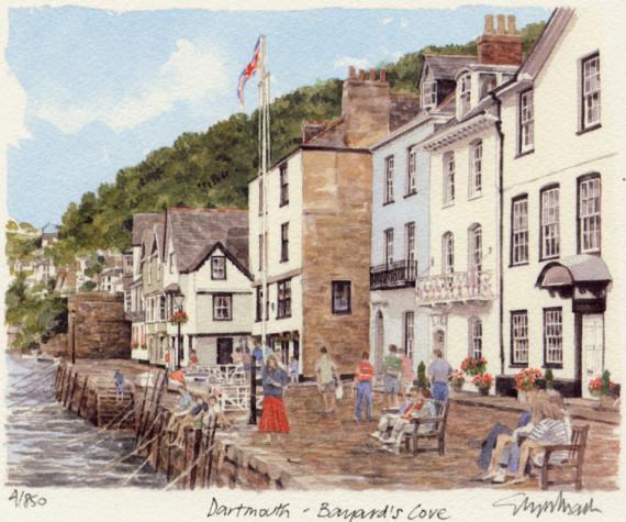 PB0047 Dartmouth - Bayard's Close