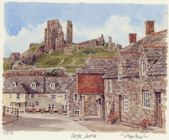 PB0054 Corfe Castle - Greyhound