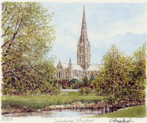 PB0056 Salisbury Cathedral