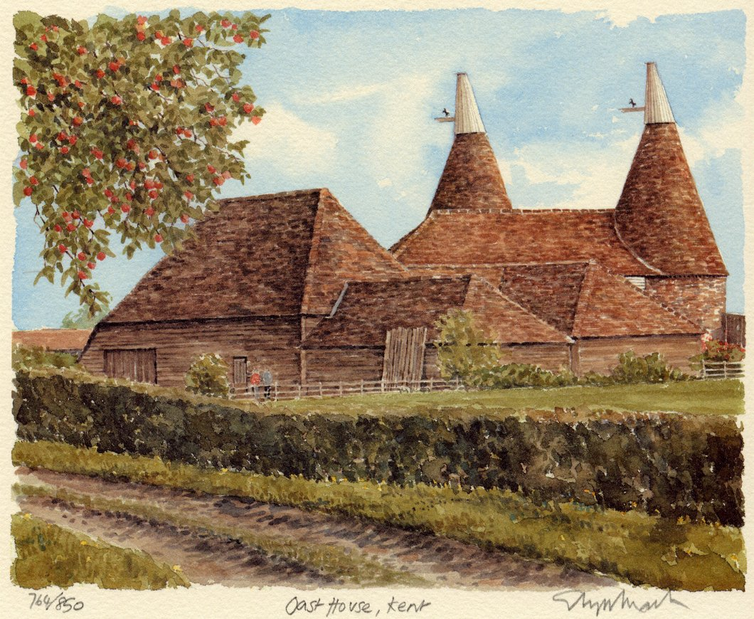 Oast house kent portraits of britain for House images gallery