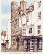Canterbury - Chr.Ch Gate