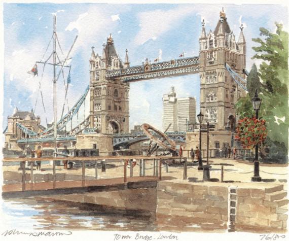 PB0075 Tower Bridge London