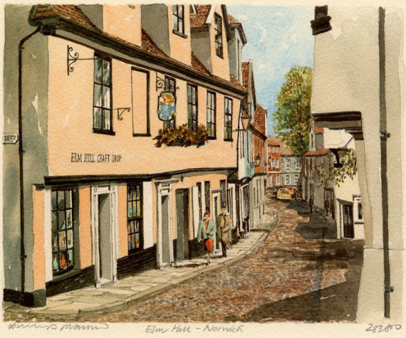 PB0086 Norwich - Elm Hill