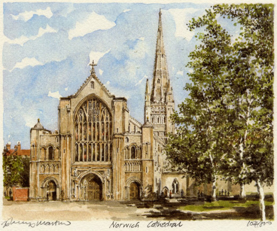 PB0087 Norwich Cathedral