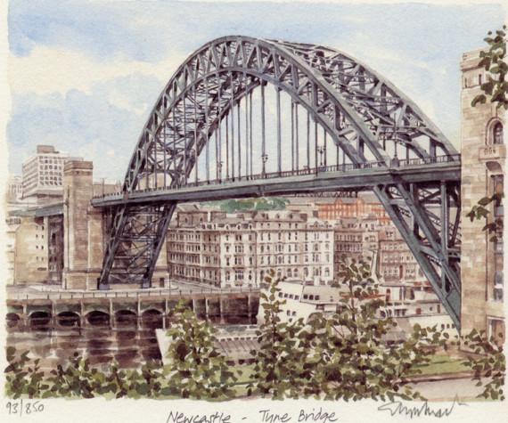 PB0094 Newcastle - Tyne Bridge