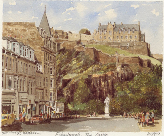 PB0098 Edinburgh Castle