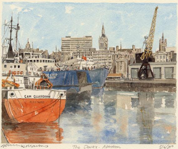 PB0102 Aberdeen - Docks