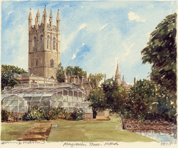 PB0118 Oxford - Magdalen Tower