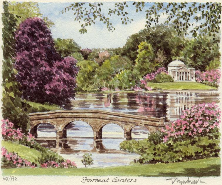 Stourhead Gardens Portraits Of Britain