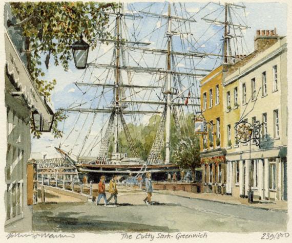 PB0146 Greenwich - Cutty Sark