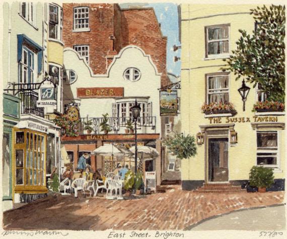 PB0157 Brighton - East Street
