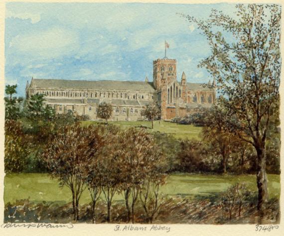 PB0166 St Albans Abbey