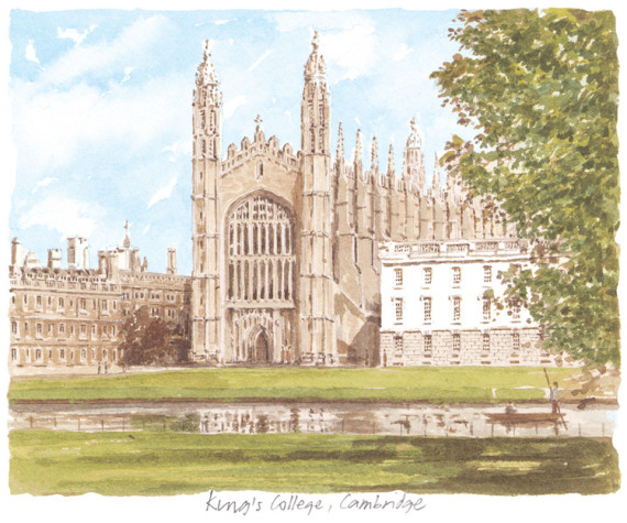 PB0183 Cambridge - King's College
