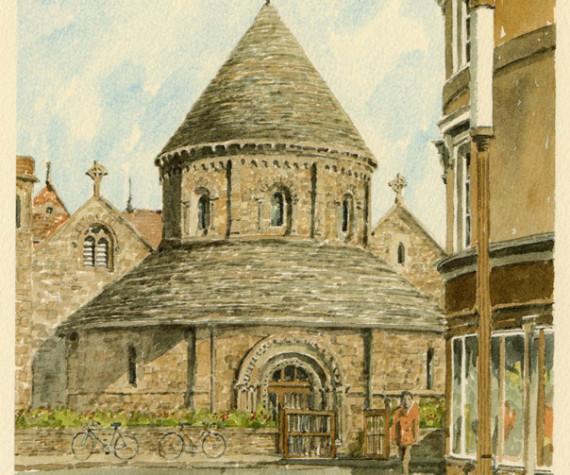 PB0184 Cambridge - Round Church