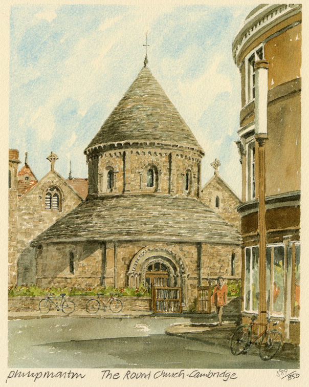 Cambridge - Round Church