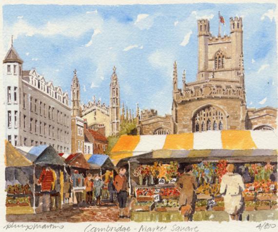 PB0185 Cambridge - Market Square