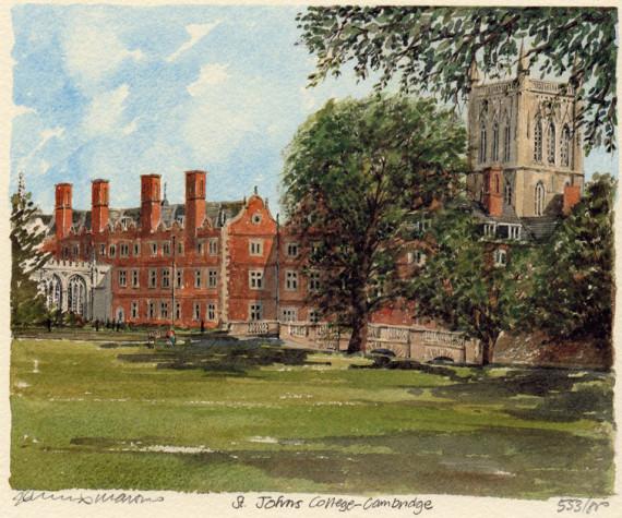 PB0186 Cambridge - St John's College