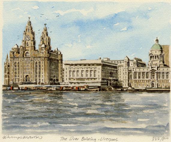 PB0189 Liverpool - The Liver Building