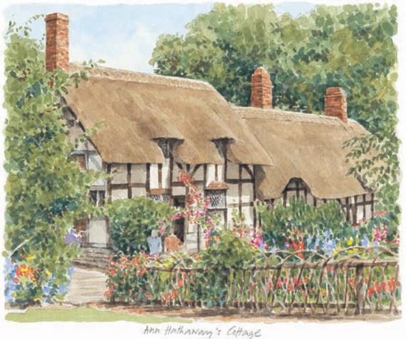 Stratford - Ann Hathaway's Cott