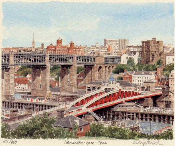 PB0223 Newcastle - panorama