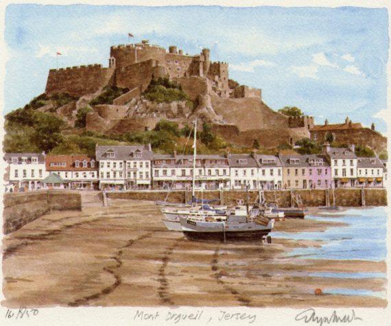 PB0233 Jersey - Gorey Castle