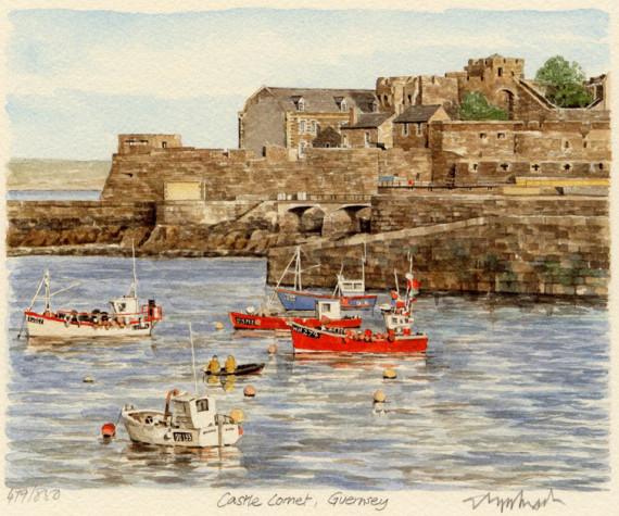PB0236 Guernsey - Castle Cornet