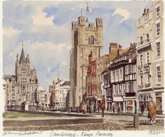 Cambridge - King's Parade