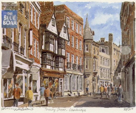PB0269 Cambridge - Trinity Street