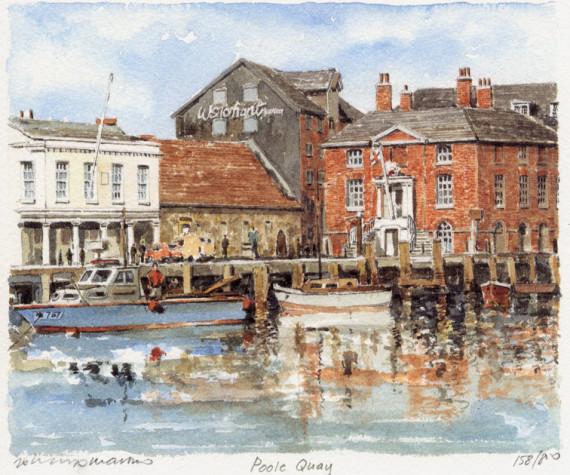 PB0285 Poole - The Quay