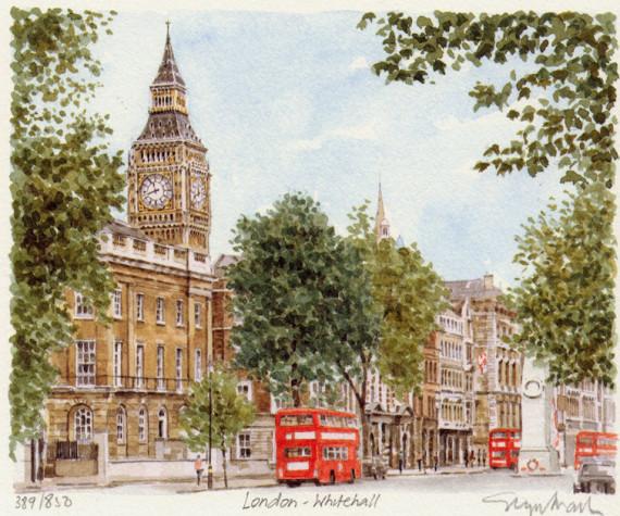 PB0310 London Whitehall