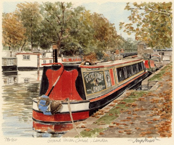 PB0315 Grand Union Canal London