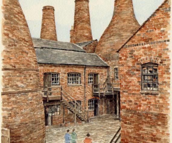 PB0324 Stoke-on-Trent - Pottery