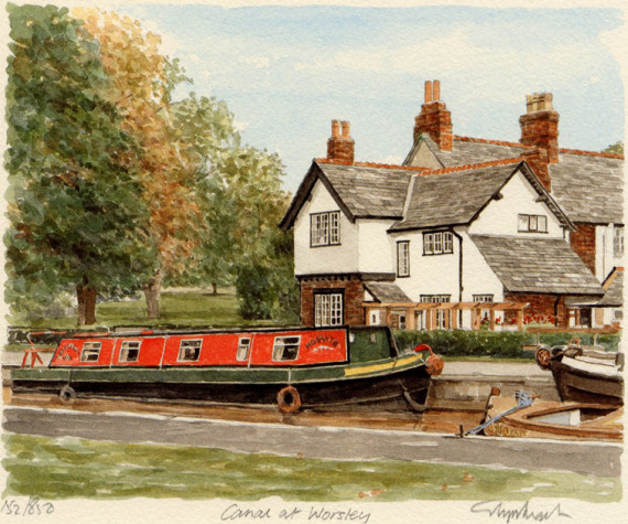 PB0328 Worsley - Canal