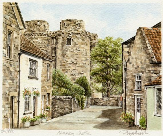 PB0338 Nunney Castle