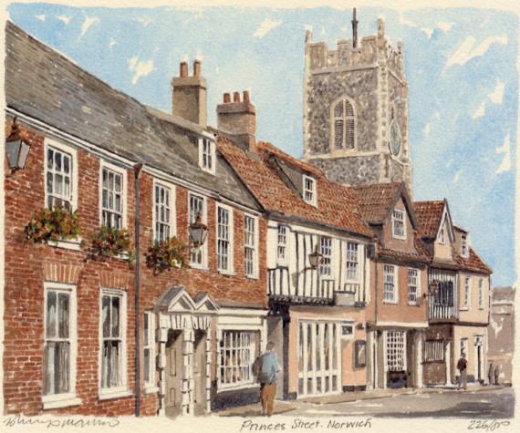 PB0339 Norwich - Prince's Street