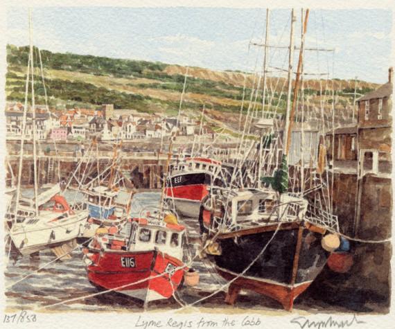 PB0373 Lyme Regis - The Cobb