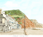 Sidmouth - looking East