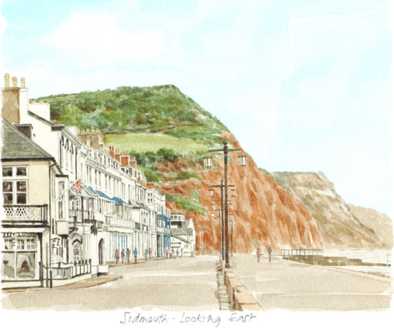 PB0377 Sidmouth - looking East