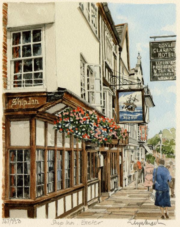Exeter - The Ship Inn