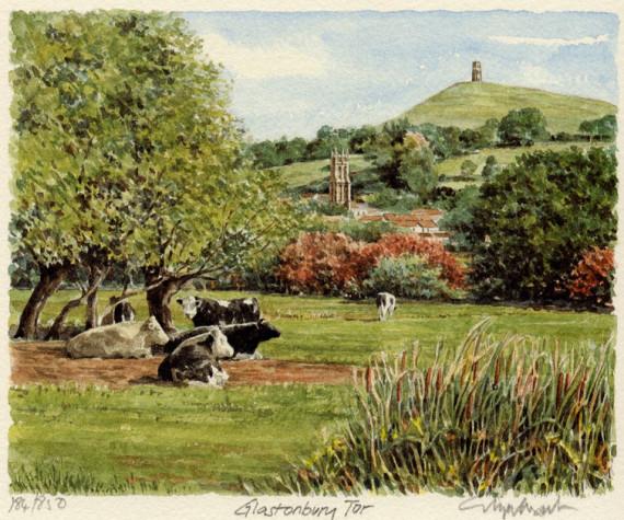 PB0402 Glastonbury Tor