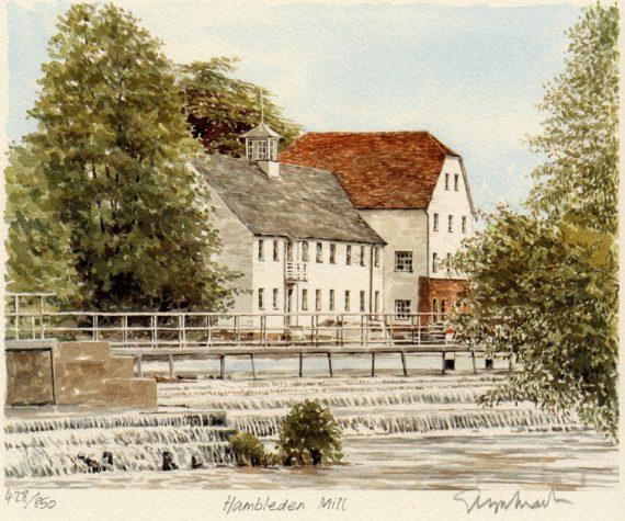PB0423 Hambledoen Mill - Thames